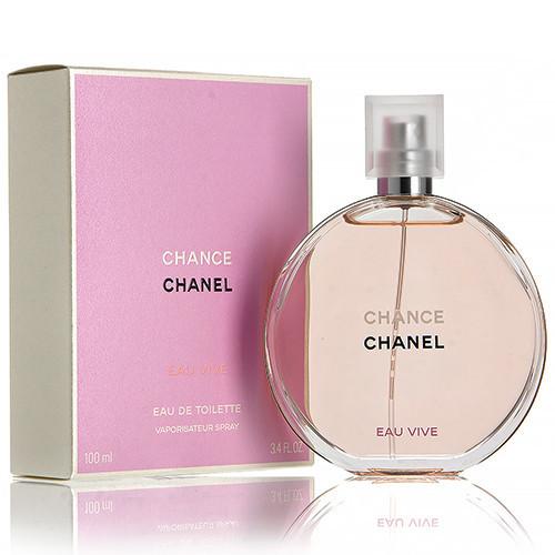 Chanel Chance Eau Vive (Шанель Виве), женская туалетная вoда, 100 ml
