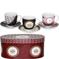Сервиз кофейный 12 пр Кофе брейк SNT 022-12-11