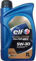 Моторное масло Elf EVOLUTION FULLTECH MSX 5w30 1л.
