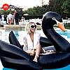 Modarina Надувной матрас Черный Лебедь 190 см