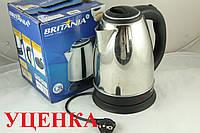 Уценка***Дисковый электро чайник Britania 1,7 л UC2603