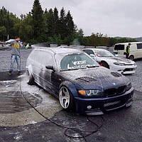 Жабры воздухозаборники в капот BMW E46