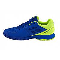 Кроссовки для тенниса Babolat Pulsion All Court M Синий/Желтый, 46