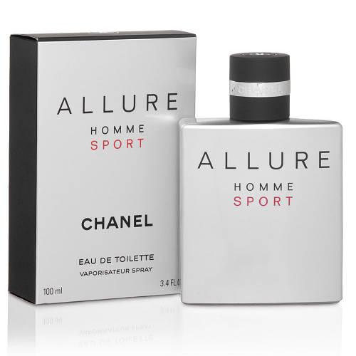 Chanel Allure Homme Sport (Шанель Аллюр Спорт),мужская туалетная вода, 100 ml