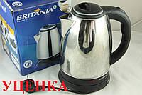 Уценка***Дисковый электро чайник Britania 1,7 л UC2605