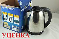 Уценка***Дисковый электро чайник Britania 1,7 л UC2312