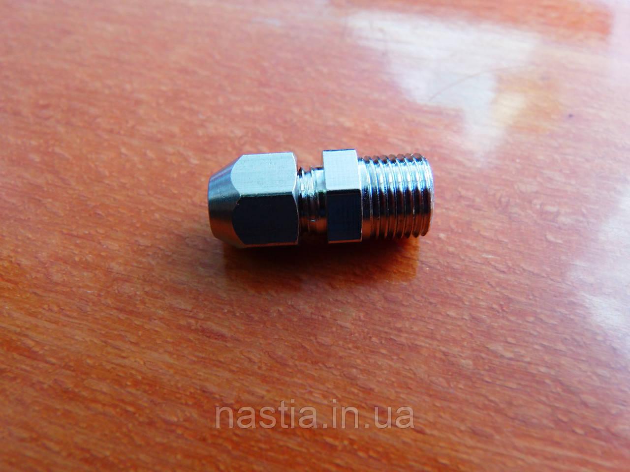 PT4 Перехідник на тефлонову трубку, d=2x4mm, вихід на 1/8