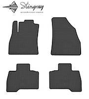 Комплект резиновых ковриков Stingray для автомобиля  Fiat Qubo 2008-      4шт.