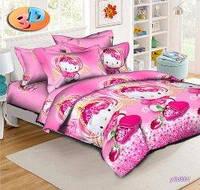 Полуторный комплект постельного белья Китти Принцесса