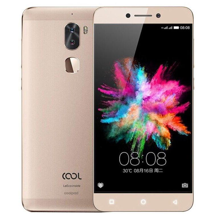 "Смартфон LeEco Coolpad Cool 1 Dual 3/32Gb Gold, 13+13/8Мп, 2sim, 5.5"" IPS, 4060mAh, Snapdragon 652, LeTV"