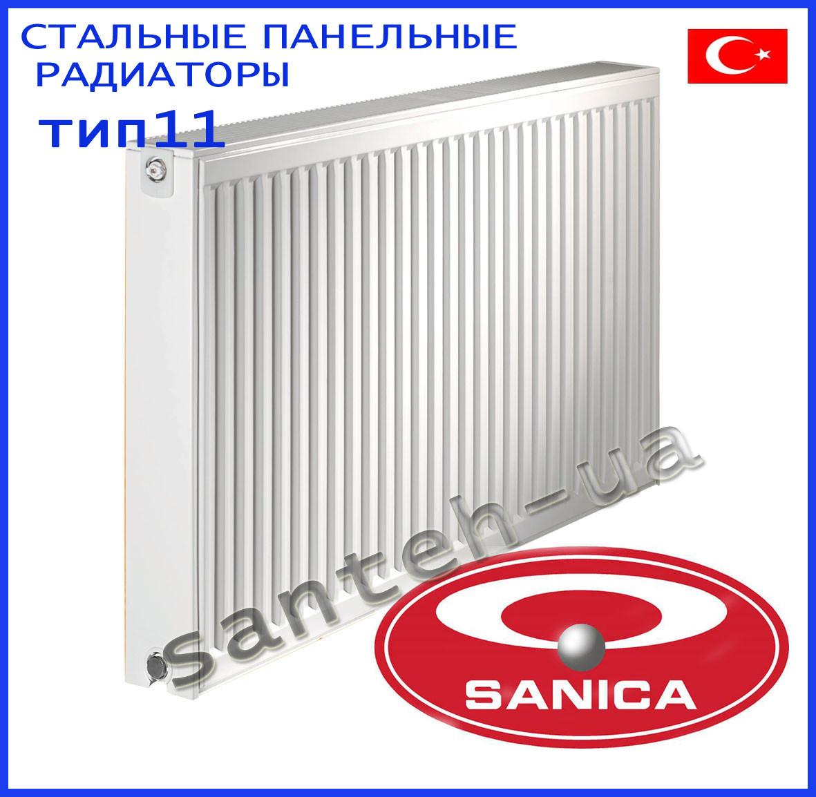 Сталеві панельні радіатори Sanica тип 11 500х1000