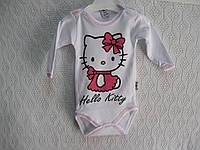 Боди для новорожденных Hello Kitty раз 68-74 ТУРЦИЯ