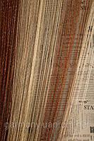 Шторы нитяные кисея Радуга Дождь (101314)