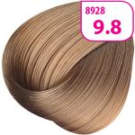 Стойкая СС крем-краска для волос KRASA с маслом амлы и аргинином тон 9.8 Очень светлый блондин бежевый