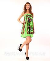 Сарафан-юбка из платка мини, фото 1