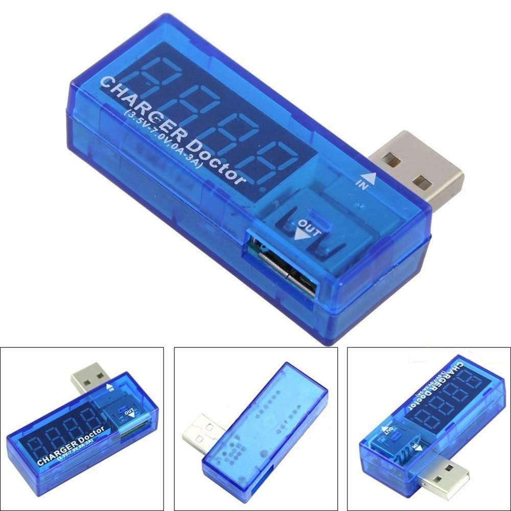 Универсальный USB тестер вольтметр, амперметр Charger Doctor