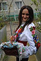 Заготовка жіночої сорочки для вишивки нитками/бісером БС-3, фото 1