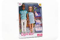 Куклы DEFA семья 8349, фото 1