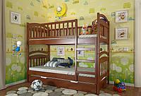 Двухъярусная кровать трансформер из дерева Смайл, фабрика Арбор Древ