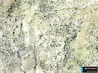 Декоративный пластик мрамор зеленый 3032