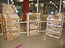 Кукольный домик-шкаф с росписью (белый), фото 7