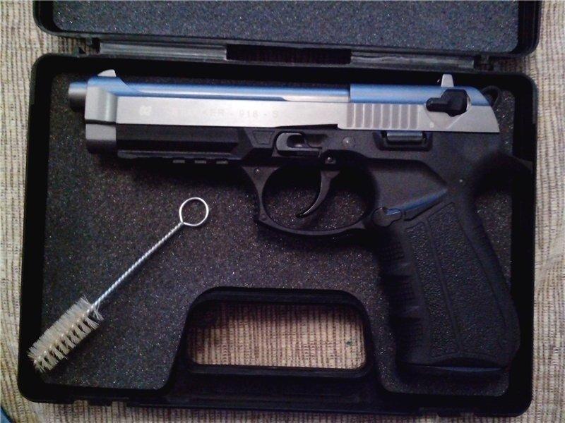Стартовый пистолет Stalker 918 Silver