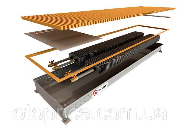 Внутрипольный конвектор Polvax KEM 300 (естественная конвекция)