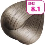 Стойкая СС крем-краска для волос KRASA с маслом амлы и аргинином тон 8.1 Светлый блондин пепельный