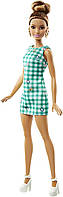 Лялька Барби серии модница, Barbie Fashionistas Emerald Check