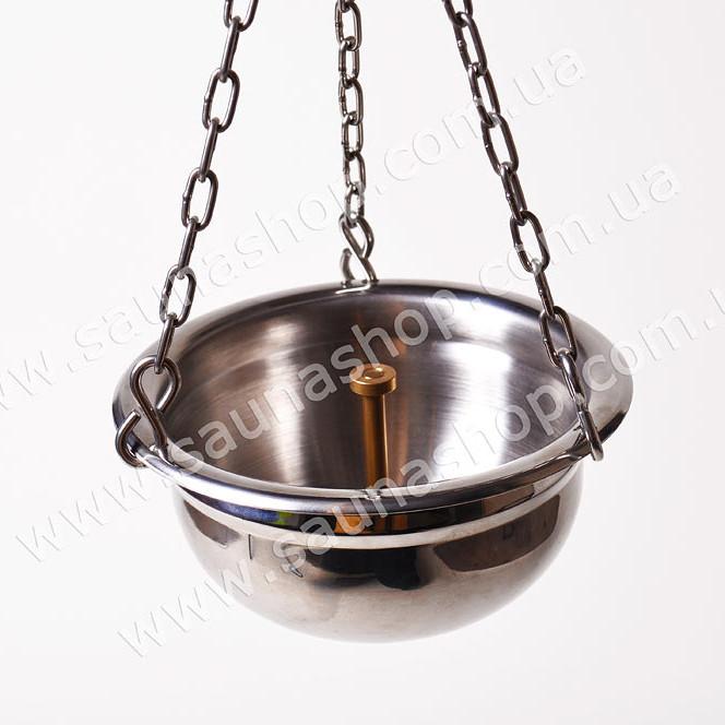 Подвесная чаша, дозатор-увлажнитель для бани.