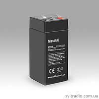 Аккумулятор MastAK MT445 (Мастак MT 445) 4V 4.5Ah