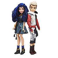 Наследники Диснея Эви и Карлос набор оригинальных кукол, Disney Descendants Two-Pack Evie Isle