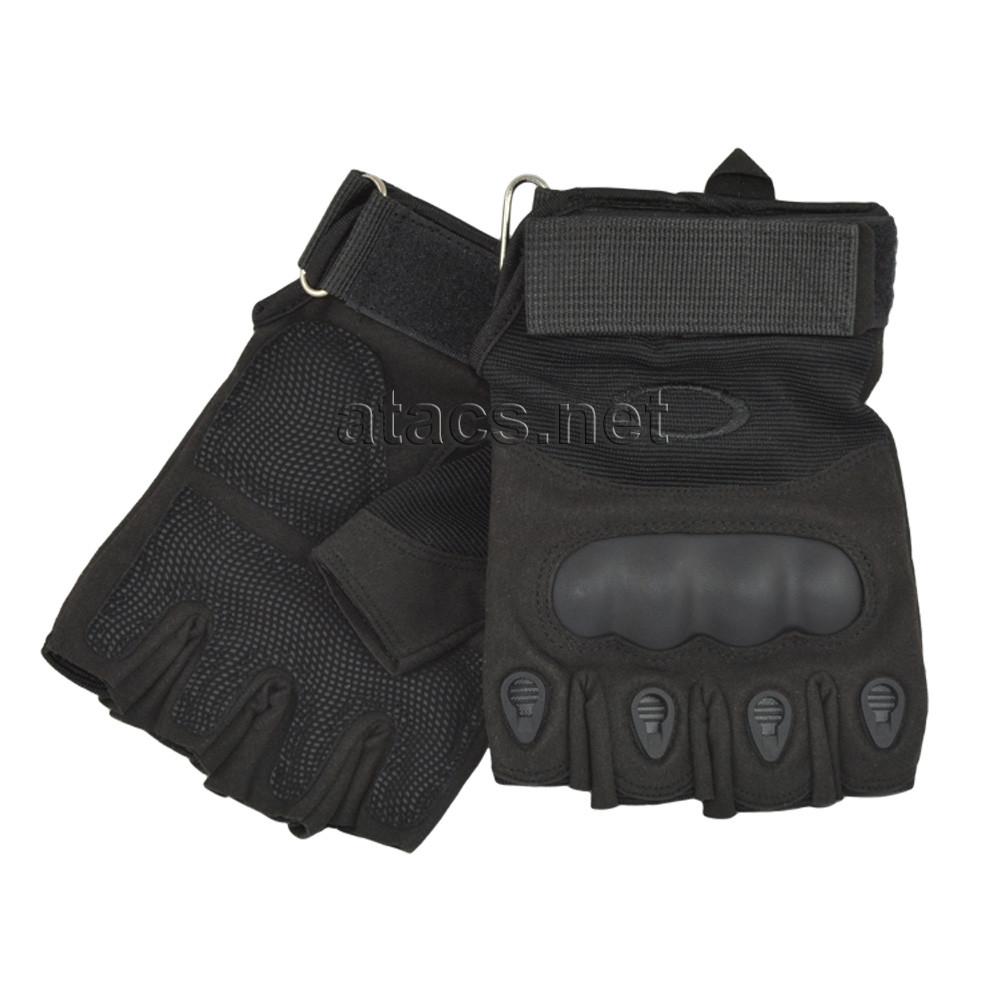 Перчатки тактические OAKLEY беспалые черные