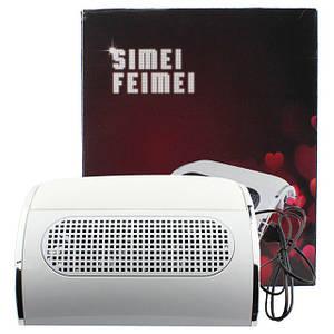 Профессиональная вытяжка Machine Nail Dust Collector (пылесборник) SIMEI FEIMEI c 3-мя вентиляторами