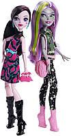 Welcome to Monster High  Дракулаура и Моаника Д`Кей из серии куклы Монстер Хай