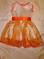 Нарядное платье на девочку рост 116 см