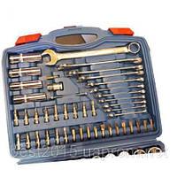 Набор ключей ONEX94GermanStyle-Набор инструмент 94 елемента с рожково-накидними 6-22мм ОХ233М