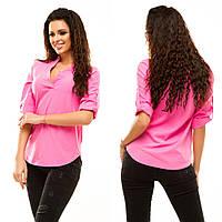 Блузка рубашка женская Ассорти цветов № 178 анд