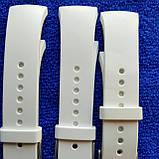 Ремешок для смарт часов Samsung Gear S2 размер  L. ОРИГИНАЛ белый, фото 2