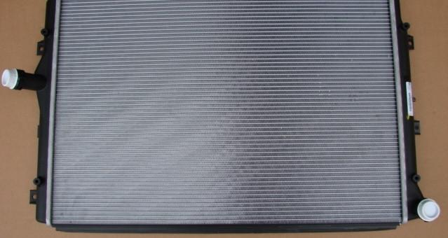Радиатор охлаждения Skoda Octavia 2007 (1.2-1.4 TSI) 625*408мм по сотах KEMP