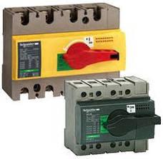 Выключатели-разъединители InterPact INS серий INS40, INS63, INS80, INS100, INS125, INS160 марки Merl