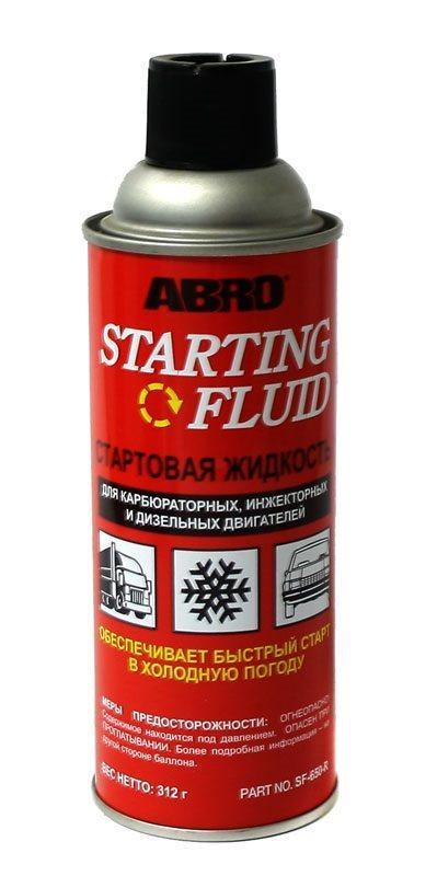 Стартовая жидкость (холодный пуск) ABRO CF-650 312г (аэрозоль)