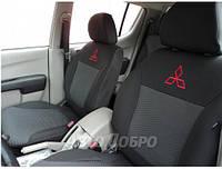 Авточехлы для салона Mitsubishi L 200 с 2015-