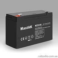 Аккумулятор MastAK MT6120 (Мастак MT 6120) 6V 12Ah