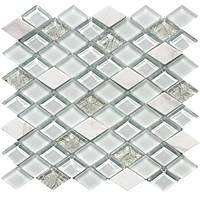 Мозаика  мрамор и стекло T04