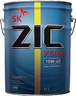 Моторное масло ZIC X5000 15W-40 20л.(Ю.Корея).