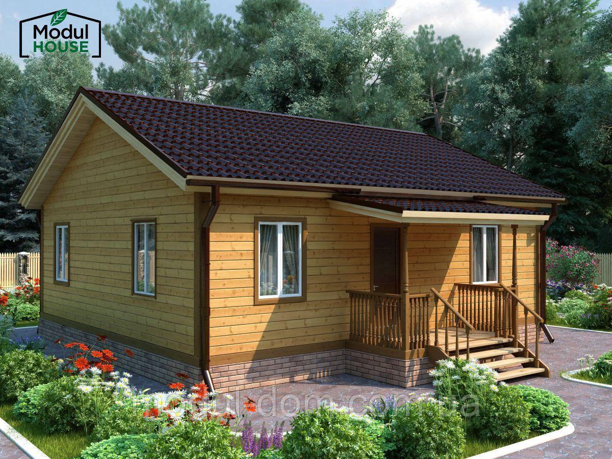 Модульные дома для проживания.  Модульные дома для круглогодичного проживания, Модульные дома под ключ