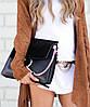 Женская сумка в стиле CHLOE FAYE SHOLDER BAG BLACK (2101)