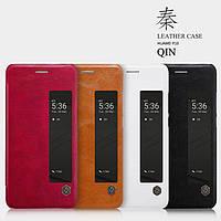 Кожаный чехол Nillkin Qin для Huawei P10 Plus (4 цвета)