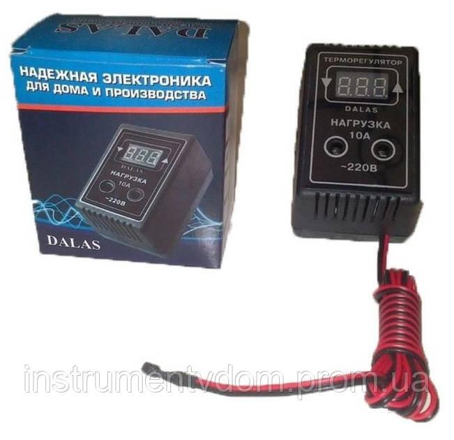 Терморегулятор цифровой DALAS 10 А (под розетку)